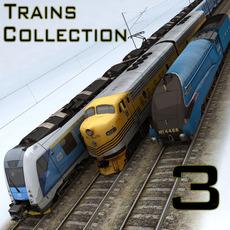 TRAINS COLLECTION 3 3D Model