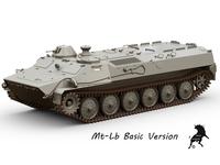 Mt-Lb Basic Version 3D Model