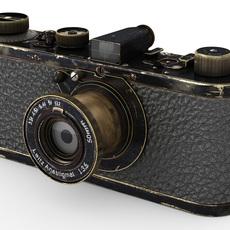 Leica 0-series vintage camera 3D Model