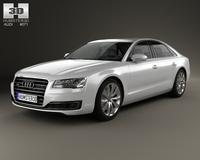Audi A8 (D4) 2014 3D Model