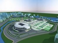 Grand Stadium 017 3D Model