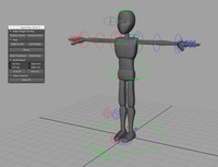 Rapid Rig: Character Kit 0.0.2 for Maya