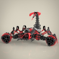 Robotic Scorpio 3D Model
