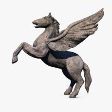 Pegasus sculpture 3D Model