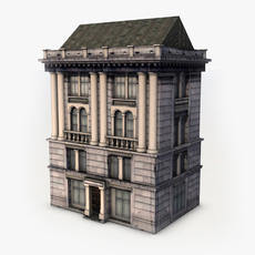 Classic Mansion 3D Model