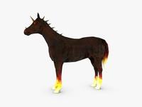 Demon Horse 3D Model