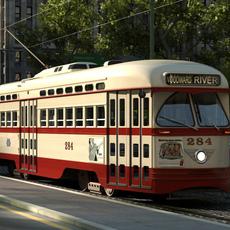 PCC streetcar 1945 3D Model