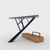 Solar Tree 3D Model