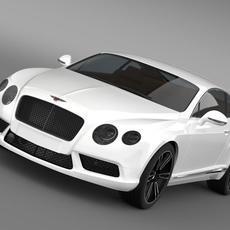 Bentley Continental GT V8 2013 3D Model