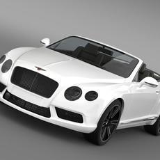 Bentley Continental GTC V8 2013 3D Model