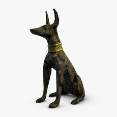 Anubis Guardian 3D Model