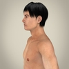 16 25 35 847 realistic young asian man 02 4