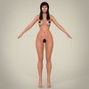 16 26 51 770 realistic young pretty lady 16 4