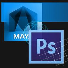 Maya to PSD for Maya 1.0.3 (maya script)