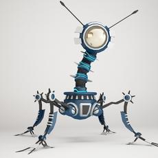 Robot 4AF299 3D Model