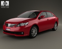 Toyota Allion (T260) 2010 3D Model
