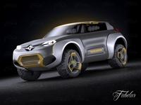 Renault Kwid 3D Model