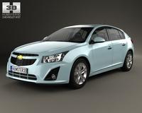 Chevrolet Cruze hatchback 2013 3D Model