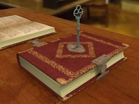 Key Of The Book 3D Model