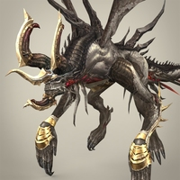 Fantasy Monster Kurkura 3D Model