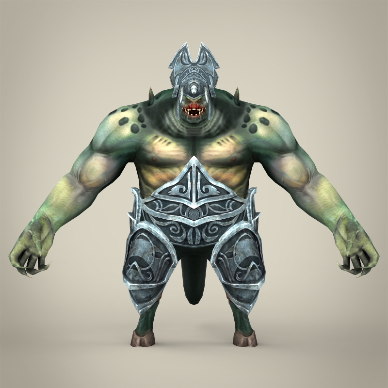 Fantasy monster piduliya 3d model for Monster 3d model
