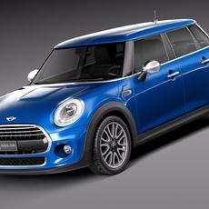 Mini Cooper 5-door 2015 3D Model