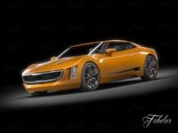 Kia GT4 concept 3D Model