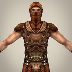 Warrior Sankesh 3D Model