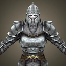 Ancient Warrior Copra 3D Model