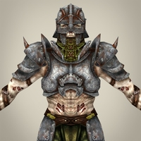 Fantasy Warrior Dettola 3D Model