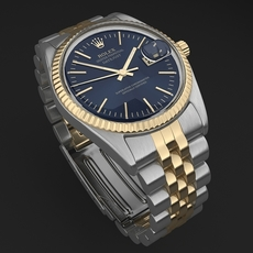 Rolex Datejust mens watch 3D Model