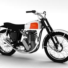 BSA B44 Victor Enduro 1966 3D Model