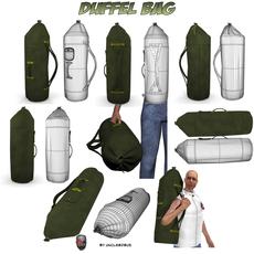 Duffel Bag 3D Model