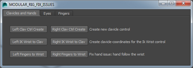 Crfix for Maya - Free Character Scripts / Plugins Downloads