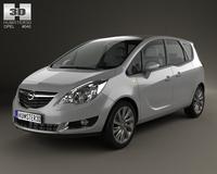 Opel Meriva (B) 2013 3D Model