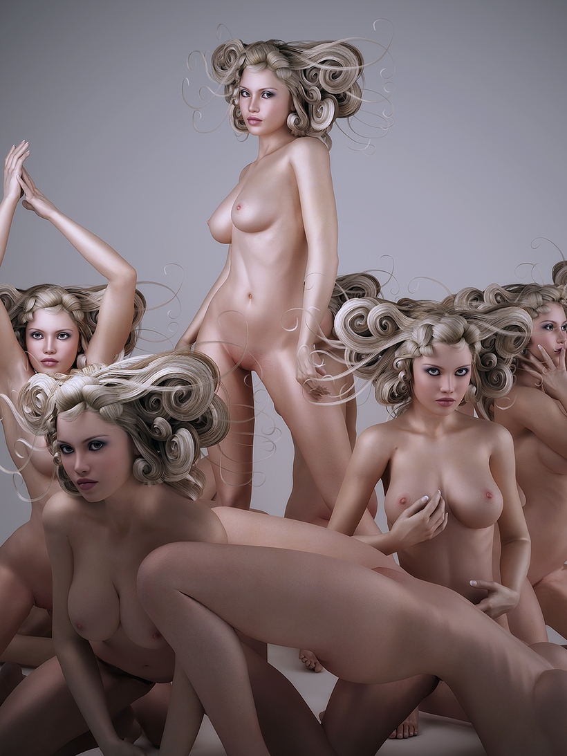 Artistic naked girls