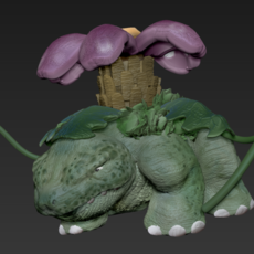 Venasaur Pokemon 3D Model
