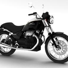 Moto Guzzi Nevada Anniversario 2011 3D Model