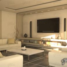 Living room 10 Day 3D Model