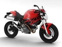 Ducati Monster 796 2011 3D Model