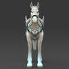 17 00 12 882 white warrior horse 03 4