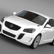 Buick Regal GS Concept 2010 3D Model