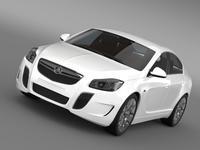 Holdel Insignia VXR 2015 3D Model