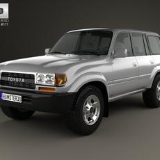 Toyota Land Cruiser (J80) 1995 3D Model