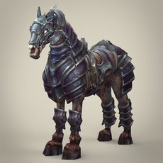 Ghost Warrior Horse 3D Model