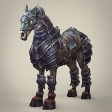 Ghost Warrior Horse 3D Model