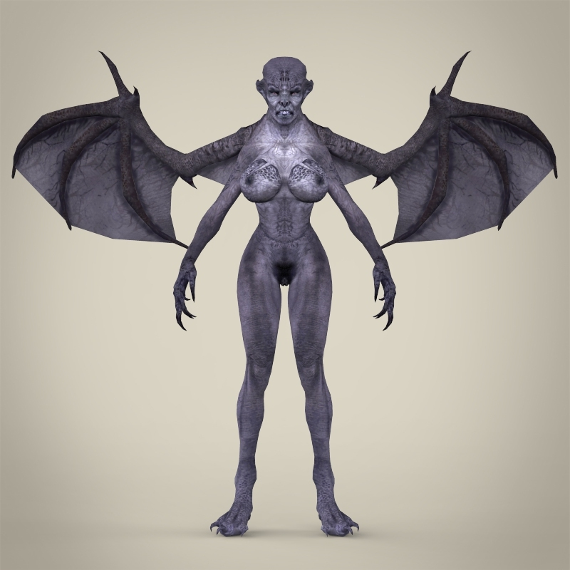 Fantasy monster jambaji 3d model for Monster 3d model