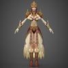 17 03 30 867 fantasy medieval queen 07 4