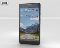Huawei Ascend Mate 3D Model