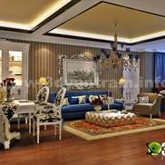 3d interior living dinning room design studio small